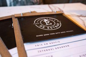 de eetbar menukaart